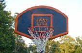 Peindre votre propre objectif de basket-ball