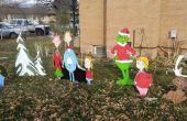 Contreplaqué bricolage Noël décorations de fêtes de l'Art de Cour