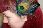 Fascinator bricolage plume