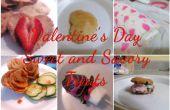 Valentin douces et savoureuses gâteries