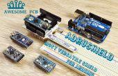 AdruShield – plus polyvalent shield Arduino jamais