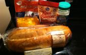 Simple étape trois Cheddar Bacon Ranch pain