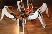 Construisons un robot hexapode à la main