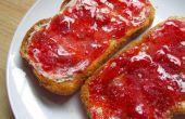 Confiture de fraise congélateur