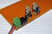 Double tension régulée alimentation pour Arduino/microcontrôleur projets