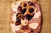 Collier steampunk femme