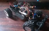 Arduino RC voiture à longue portée et émetteur personnalisé.