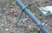 Mortier de fusée d'eau bricolage