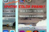 Facile iPhone couleur Prank
