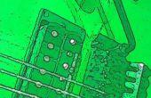 Arduino Due guitare ADC entrée et mélangeur sortie DAC