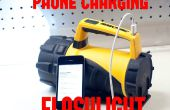 Lampe de poche LED 10 $ & Emergency chargeur de téléphone