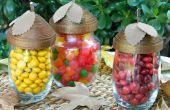 Plats de gland Candy