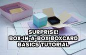 SURPRISE ! Explosion de boîte-in-a-box Box Card