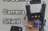 Monture de caméra contrôlée à distance Arduino – suivi bouclier d'objets ir