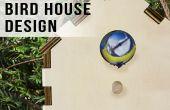 Découpé au laser Birdhouse Design