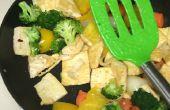 Let's Cook Tofu sauté