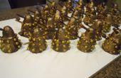 Une armée de gâteaux Daleks