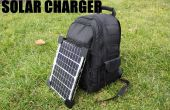 Comment faire un sac à dos du chargeur de téléphone solaire