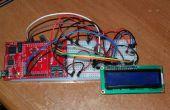 Projet de Thermo-mètre LCD à l'aide de TI MSP-EXP430FR5739 FraunchPad
