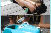 Comment restaurer une voiture antique de pédale