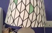 Nouvel abat-jour pour lampe vintage