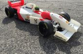 RS-01 Ayrton Senna's 1993 McLaren MP4/8 Formula 1 3D printed RC Car