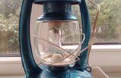 Restauration de vieille huile de lampe