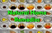 Remèdes à la maison naturel