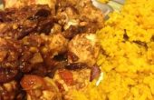 Poulet Tikka Masala avec curcuma riz