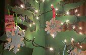Tutoriel : Bricolage sapin de Noël de Six-Sided carton