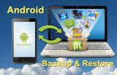 Comment faire une sauvegarde téléphone Android ou comprimé