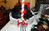DIYish de mariage fille fleur personnalisé panier ; Décor de cérémonie