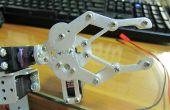 Mon projet de septième : Jeu de bras de Robot