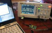 Le générateur de signaux arbitraires Atmel Xmega USB/série