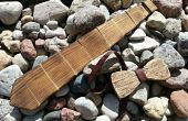 Traverses en bois et noeud papillon