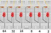 Projet de technologie - W65C02SXB Binary compteur LED 65xx