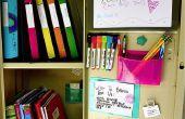 Comment organiser votre casier
