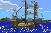 Minecraft PE - navire de la Marine royale