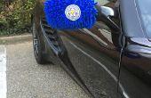 Rétroviseur chaussettes pour votre voiture - Support Leicester City en style
