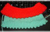 Comment tricoter une bordure Picot