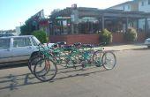 Comment faire de la moto de Bus, une personne 9 6 vélos à roues.