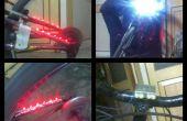 LED lampes de sécurité bicyclette (pédale propulsé) sous 10 $
