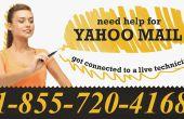 Haut de la page Yahoo Mail problème aujourd'hui et leurs Solutions appellent 1-855-720-4168