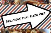 Délicieuses pizzas Mini