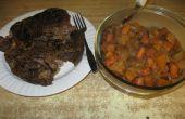 Slow Cooker rôti et légumes