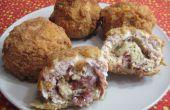 Deep Fried cordon-bleu Balls