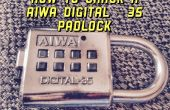 Chaud de Crack A AIWA numérique-35 cadenas