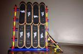 K ' NEX Tech Deck Stand (pouvant contenir 8 ponts Fingerboard)