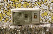 Comment faire revivre une radio de transistor de circuit réflexe sylvania
