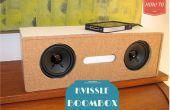 Porte-revues bricolage Transformation à une boîte de perche Audio serre-livres Kvissle